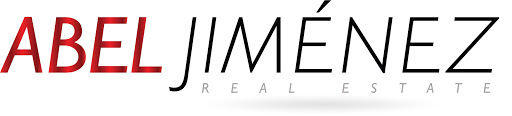 Logo Abel Jimenez Tijauna Real Estate 512x116 White and Red