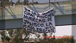 Que les quede claro pinches munecas de Jalisco La Plaza es de Nosotros CDS - Narco Manta en Delegacion Sanchez Taboada - A Menos de 15 Minutos de Colinas de California, La Rioja Residen