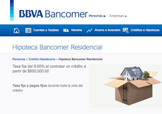 Se caracteriza por mejorar las opciones hipotecarias dependiendo el desarrollador o vendedor de la vivienda
