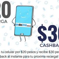 Tiempo Aire Gratis, REAL Recarga Telcel de $30MX Totalmente Gratis, Sin Trucos
