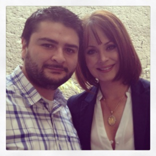 Abel Jimenez con Gaby Spanic
