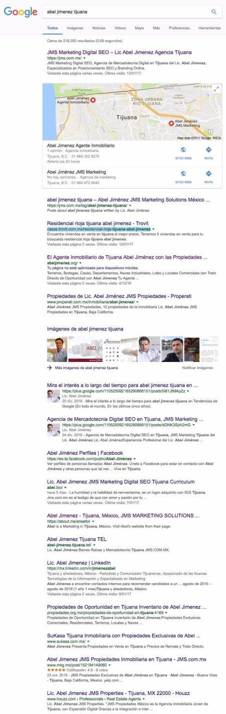 "Abel Jimenez Tijuana ""Término de Búsqueda - Keyword Google México - 04 Enero 19 horas PST Abel Jimenez Mercadólogo, Campaña de Branding SEO Optimización Content Marketing & Social Media Tijuana"