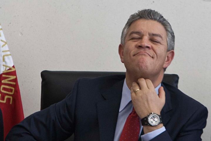 David Penchyna Director de INFONAVIT Orgulloso de Embargar Propiedades