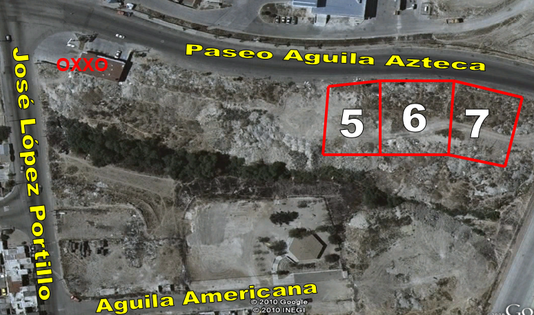 TERRENOS EN VENTA, Calle Águila Azteca, Fracc. Baja Maquila EL AGUILA, TIJUANA