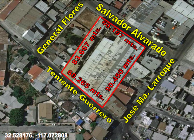Bodega, Nave Industrial o Terreno Súper Bien Ubicado, Col. Soler Tijuana, Ideal Para Maquila o Centro Comercial o Desarrollo Residencial Exclusivo