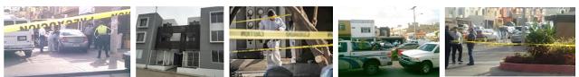 HALLAN 'ENCOBIJADO' a Sólo Minutos de La Rioja Residencial - Colinas de California, Misma Delegación del Terror en Tijuana: Sánchez Taboada!    FRONTERA, TIJUANA.- El hecho ocurrió sobre la avenida Los Toros, de la colonia Amparo Sánchez, de la delegación Sánchez Taboada, alrededor de las 11:30 horas del sábado, cuando se reportó el hallazgo de un cadáver encobijado, sobre un camino de terracería. Personal de la PGJE informó que la víctima no ha sido identificada, sin embargo, se presume que tendría entre 35 y 40 años de edad, y diversas lesiones en distintas partes del cuerpo. Además, tenía huellas de haber sido estrangulado, y un orificio de bala en la cabeza, y estaba atado de pies y manos, a pesar de estar envuelto en una cobija; en el lugar también se encontró un casquillo de bala calibre .380. En personal de Periciales inició las indagatorias correspondientes, al tiempo que el Servicio Médico Forense, se encargó del levantamiento de los cuerpos.