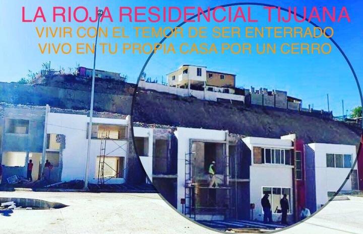 Protección Civil Tijuana debe DETENER LA VENTA DE VIVIENDA en La Rioja Residencial Tijuana hasta que GIG Desarrollo Inmobiliarios Garantice la Seguridad de la Población y Reciba un Castigo Ejemplar para Advertir a otras Empresas de los Riesgos Legales que Implica Jugar con la Vida y el Patrimonio de los Tijuanenses.