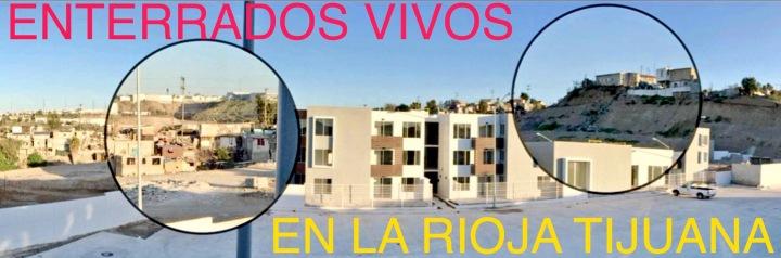 """Los Cerros que Rodean el Fraccionamiento Amenazan con Deslavarse y Enterrar Vivos a Residentes de La Rioja Residencial Tijuana, Ante la Presumible Negligencia de GIG DESARROLLOS INMOBILIARIOS que Acusan No Cumplió con Reforzar Ni Siquiera con Cemento los Mencionados Cerros que Amenazan Con Ceder a la Gravedad y el Agua, Sepultando Todo a su Paso. JMS.com.mx/2017/09/14/la-rioja-residencial-tijuana-enterrados-vivos-por-irresponsabilidad-de-gig-desarrollos/ http://GIGDesarrollosInmobiliarios.jms.com.mx Debe de Garantizar sin Excusa la Seguridad de la Población de la Zona Que Comercializa; INFONAVIT e Instituciones Bancarias Están a Tiempo de RECONSIDERAR LOS TAN GENEROSOS AVALÚOS que sus """"Peritos"""" Dieron a los Inmuebles de La Rioja Tijuana y que NO corresponden a la Realidad La Empresa de www.TLAJOMUL.CO Debe de Recibir un Castigo Ejemplar sin Importar las Influencias del Abusador de Armando Gómez Flores, para Advertir a otras Empresas de los riesgos legales que implica jugar con la Vida y el Patrimonio de los Tijuanenses. jms.com.mx/press/LaRiojaTijuana"""