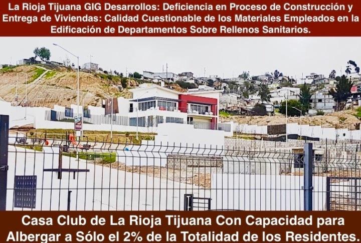 tus vecinos te esperan! - la rioja residencial tijuana - casa club con alberca y sin privacidad - insegura - poco funcional